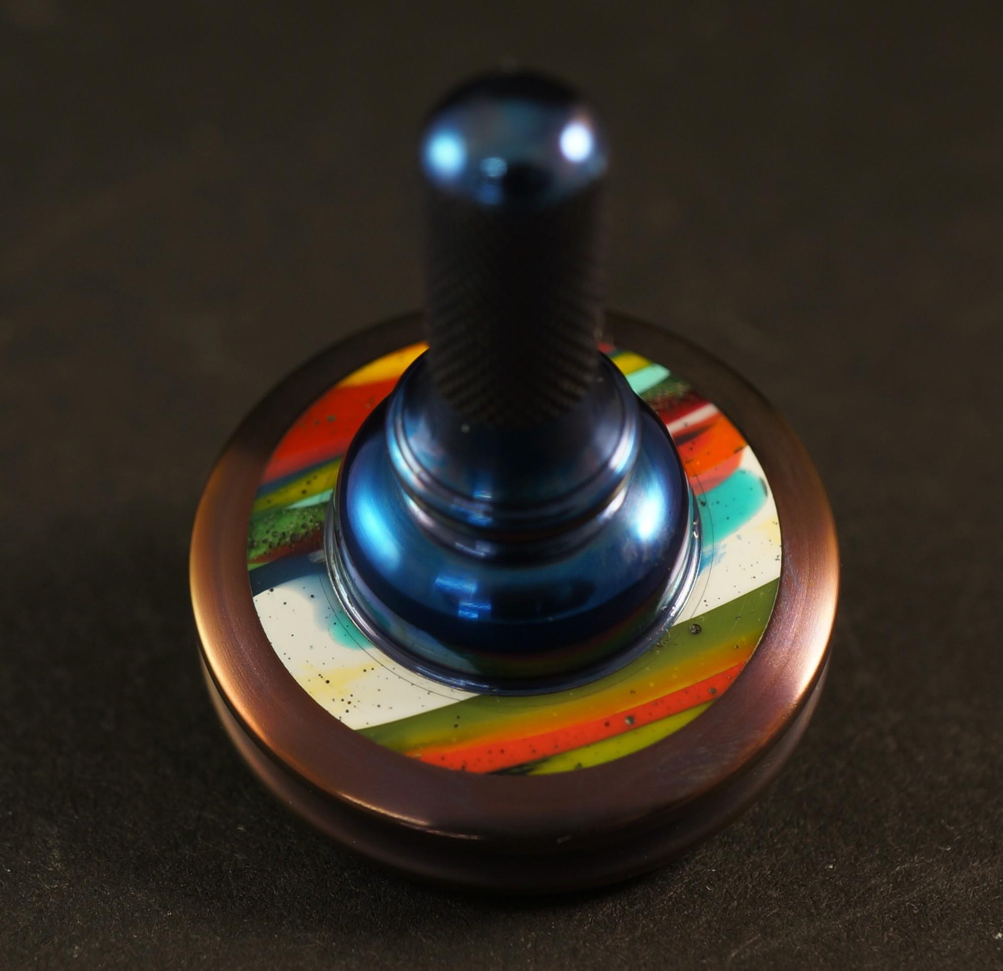 """#997 .98"""" Zirconium, Surfite and Titanium UFO picture 2"""