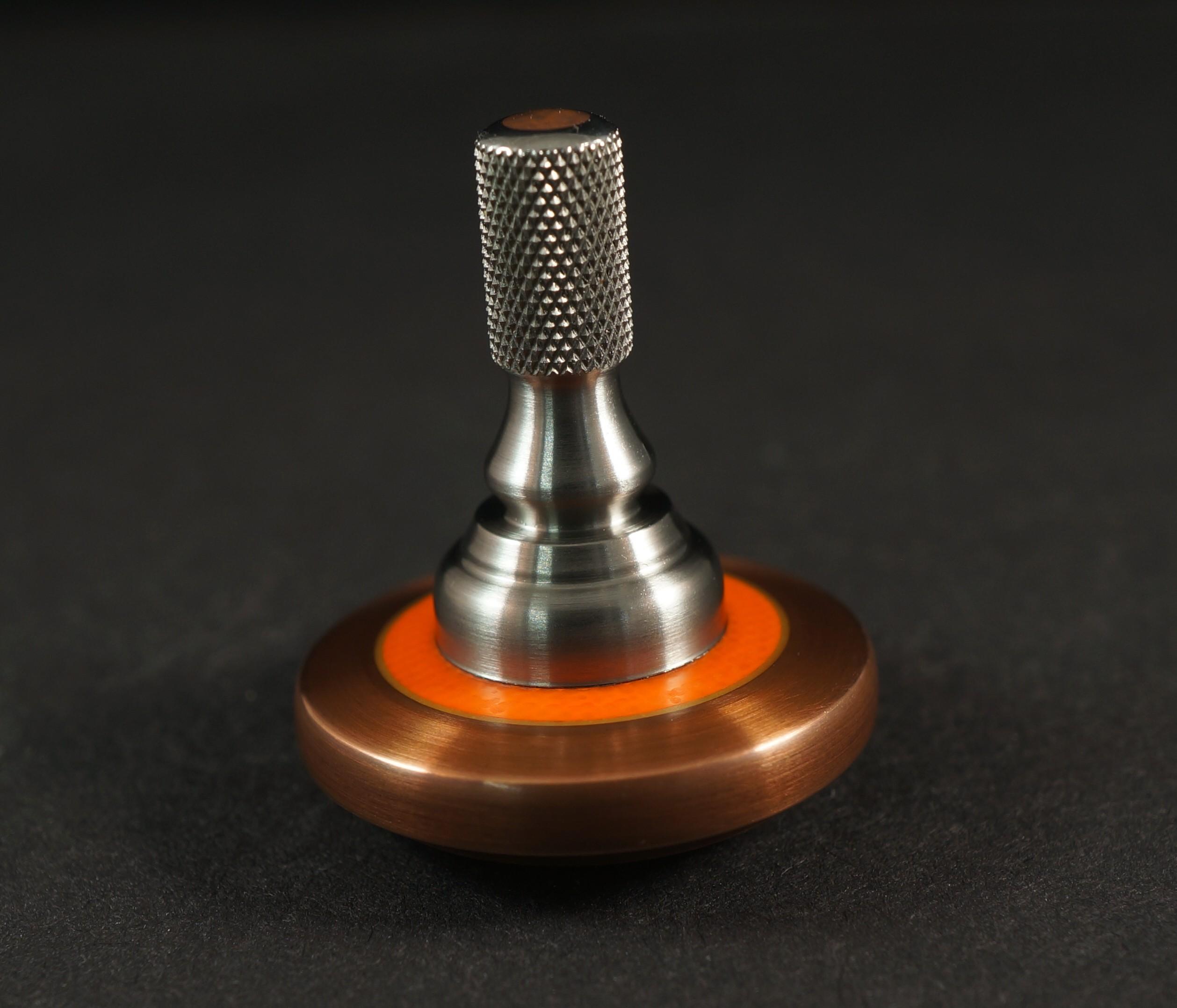 """Picture of #1256.98""""Copper 182, Orange G10, TurboGlow & Titanium"""