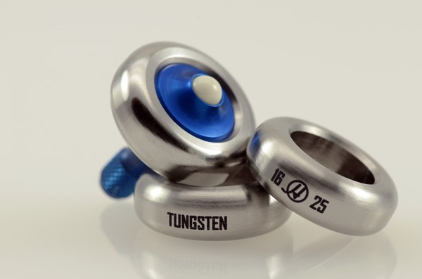 Picture of Lambda Lottery: 10 pc Edition - Tungsten Ring + Blue Anodized Ti Spindle