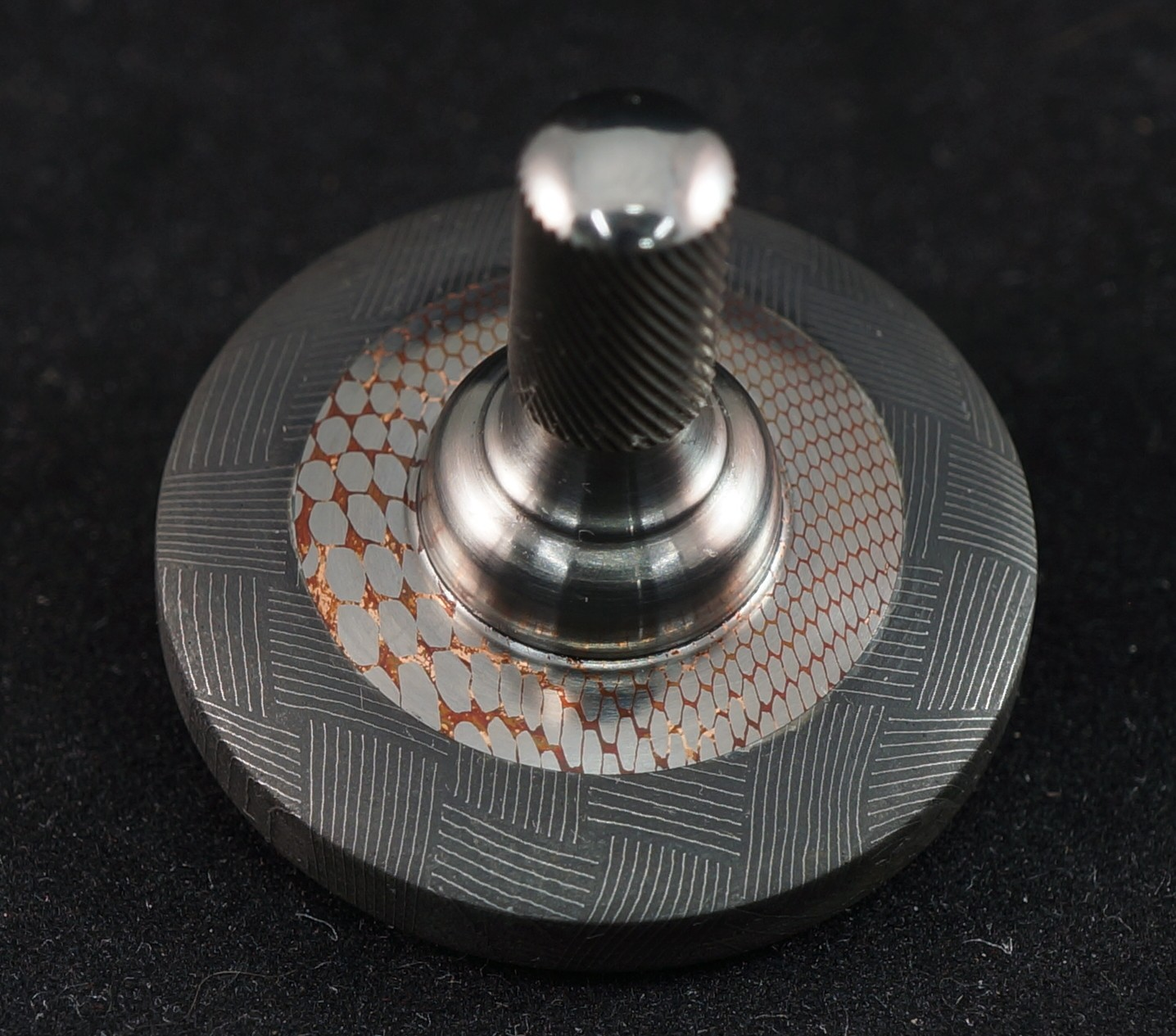 1.22 Vegas Forge Basketweave, supeconductor and Titanium picture 2