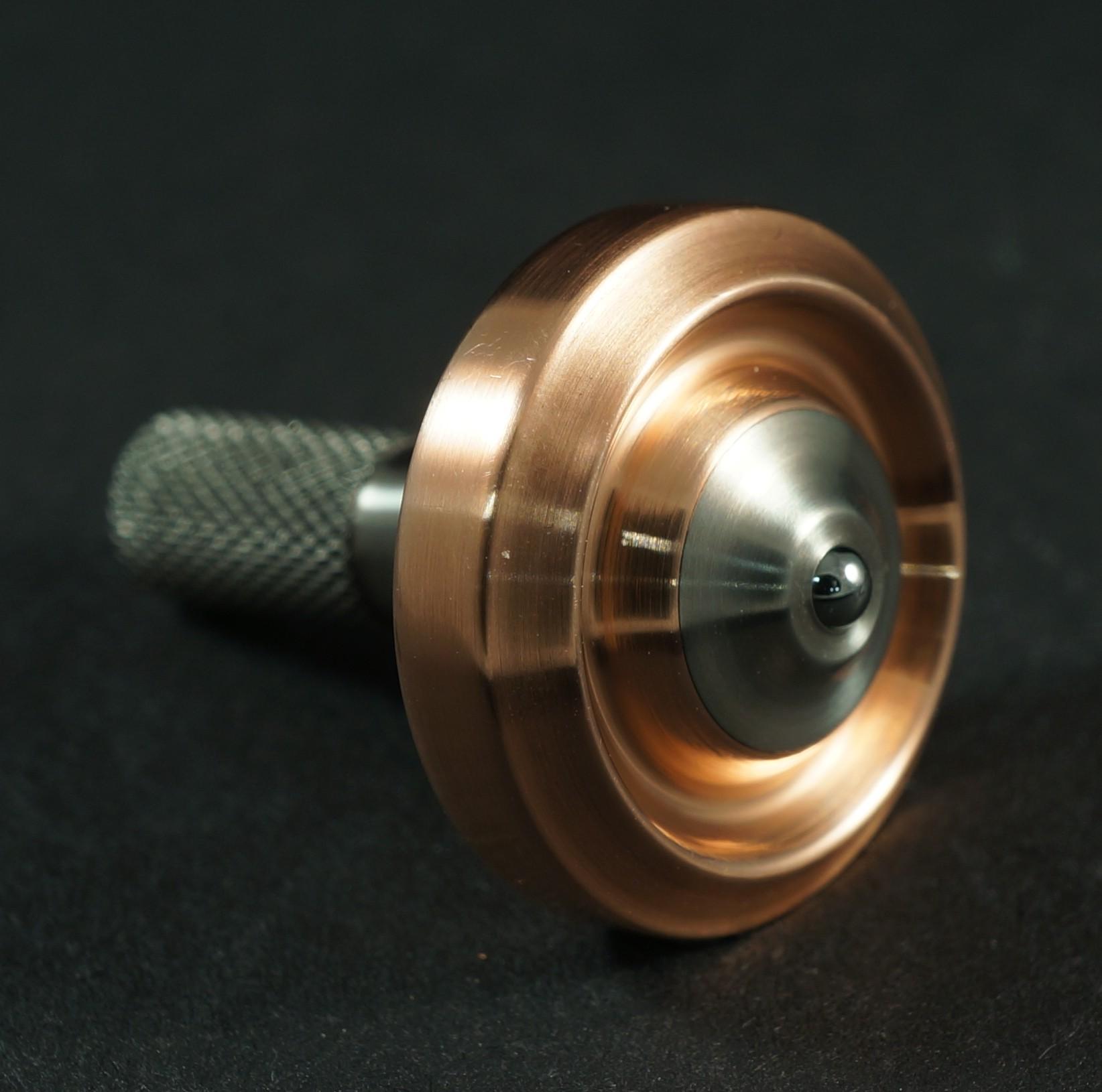 """#1099 .74"""" Copper & Titanium UFO picture 2"""
