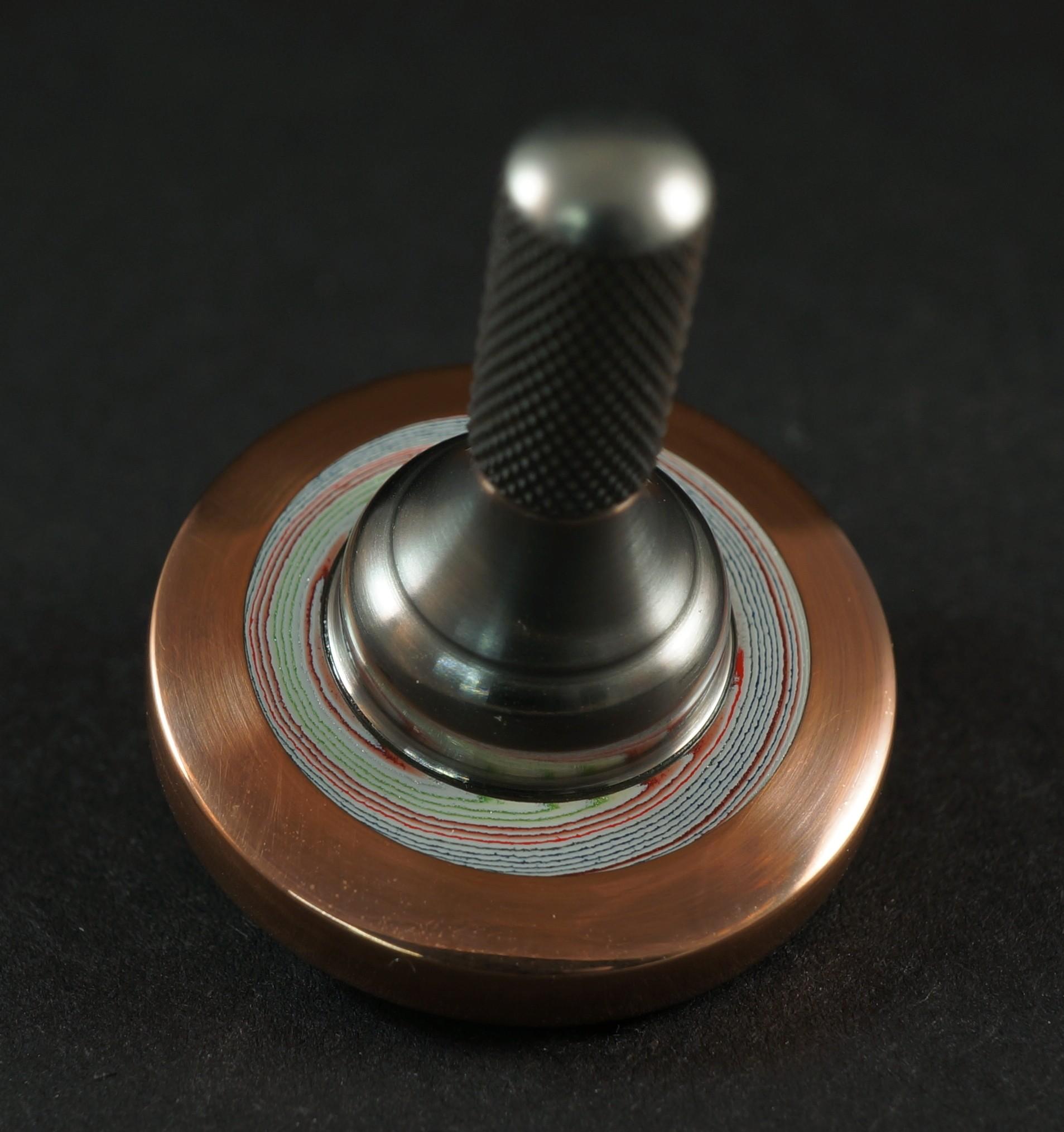 """#1068 .99"""" Copper, Fordite,  titanum UFO picture 2"""