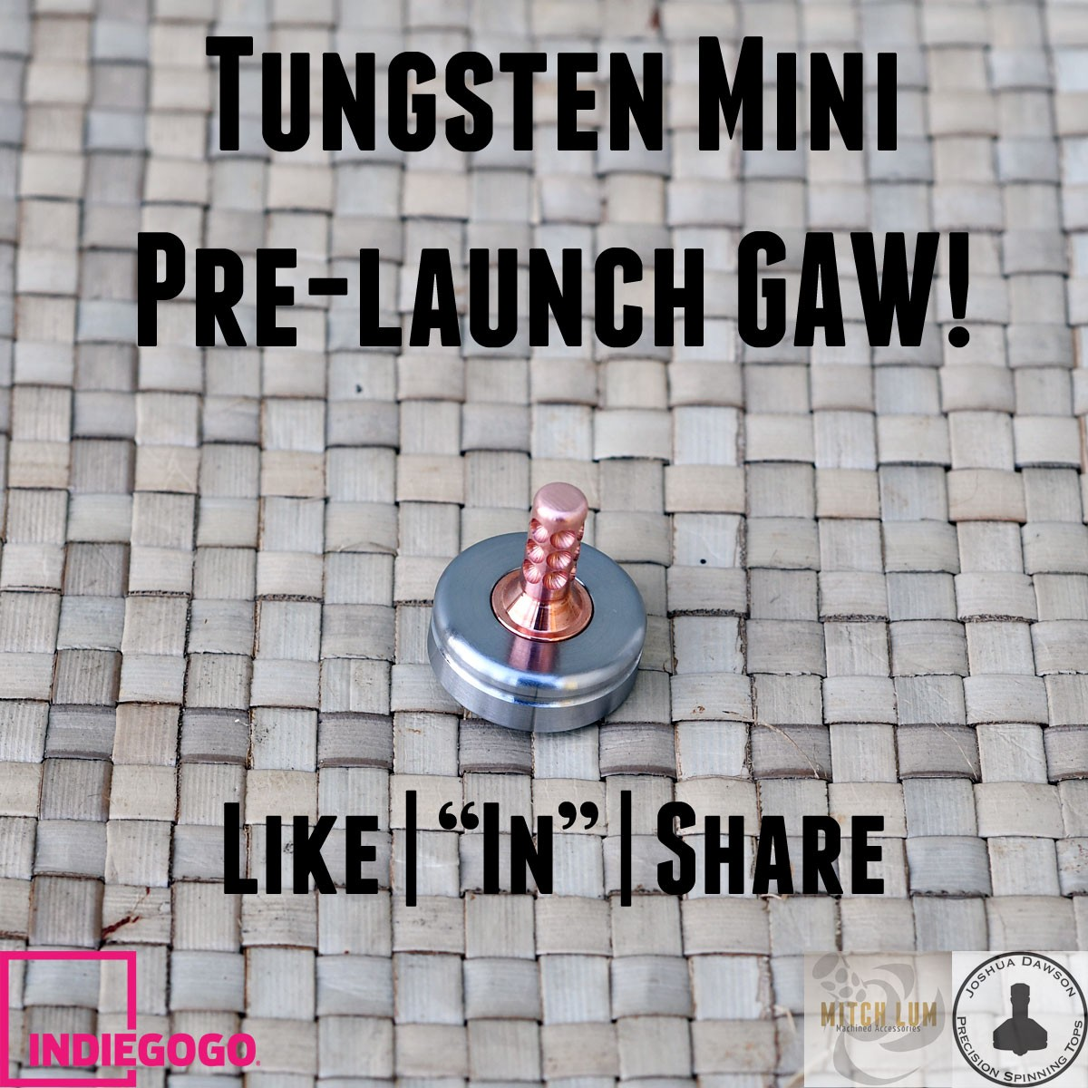 Picture of Lum/Dawson TungstenMini - Pre-Launch GAW