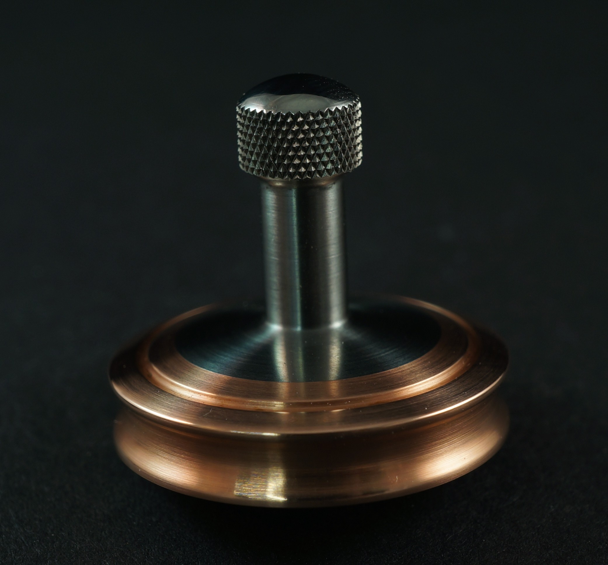 "Picture of #985 .98"" Copper and Titanium UFO"