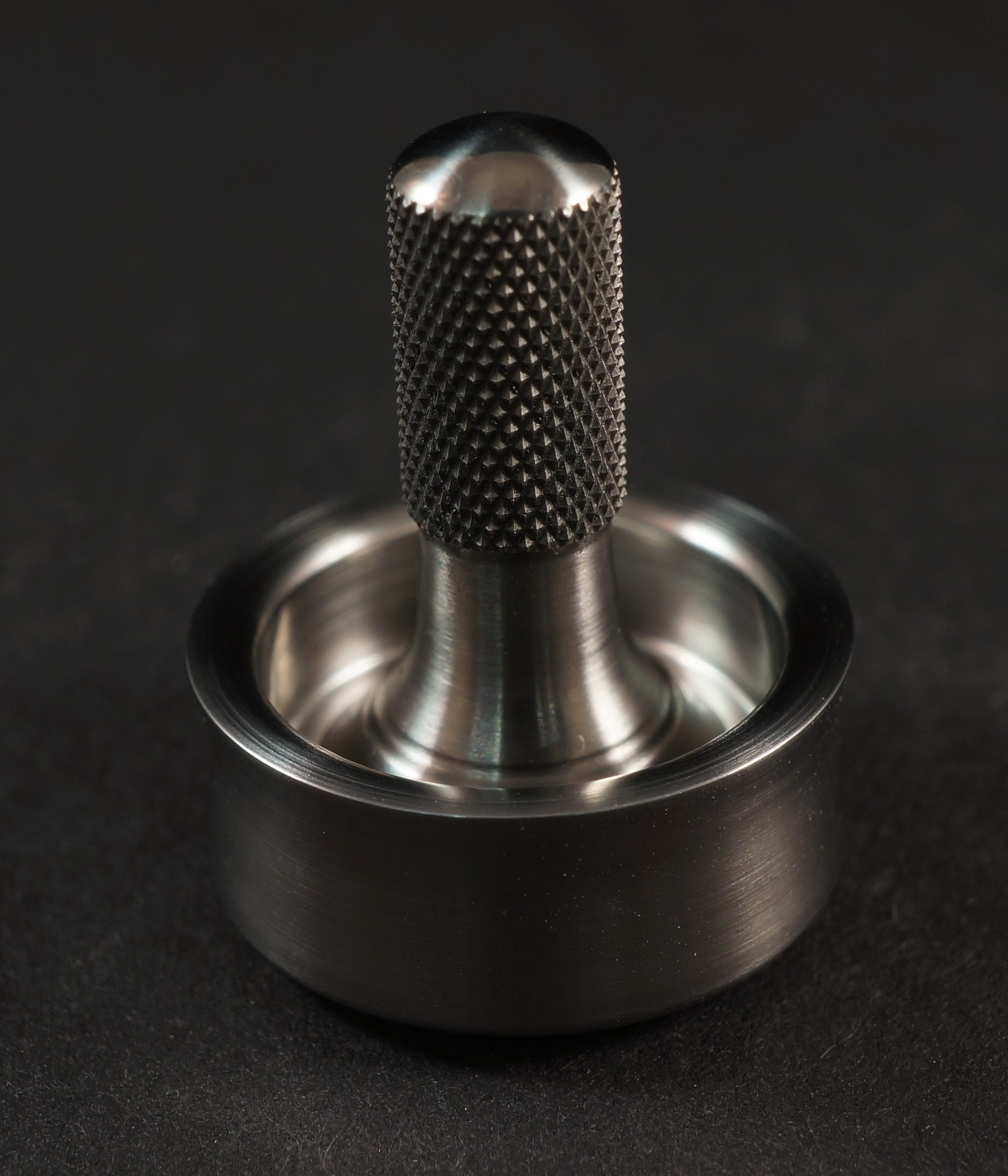 """Picture of #1098 .72"""" D2 Steel and Titanium Bucket"""