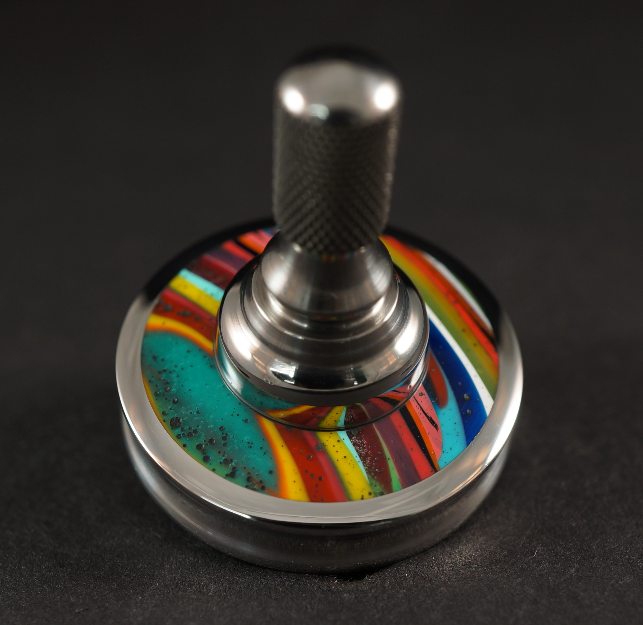 "#1024 .98"" 440c Stainless with Surfite and titanium UFO picture 2"