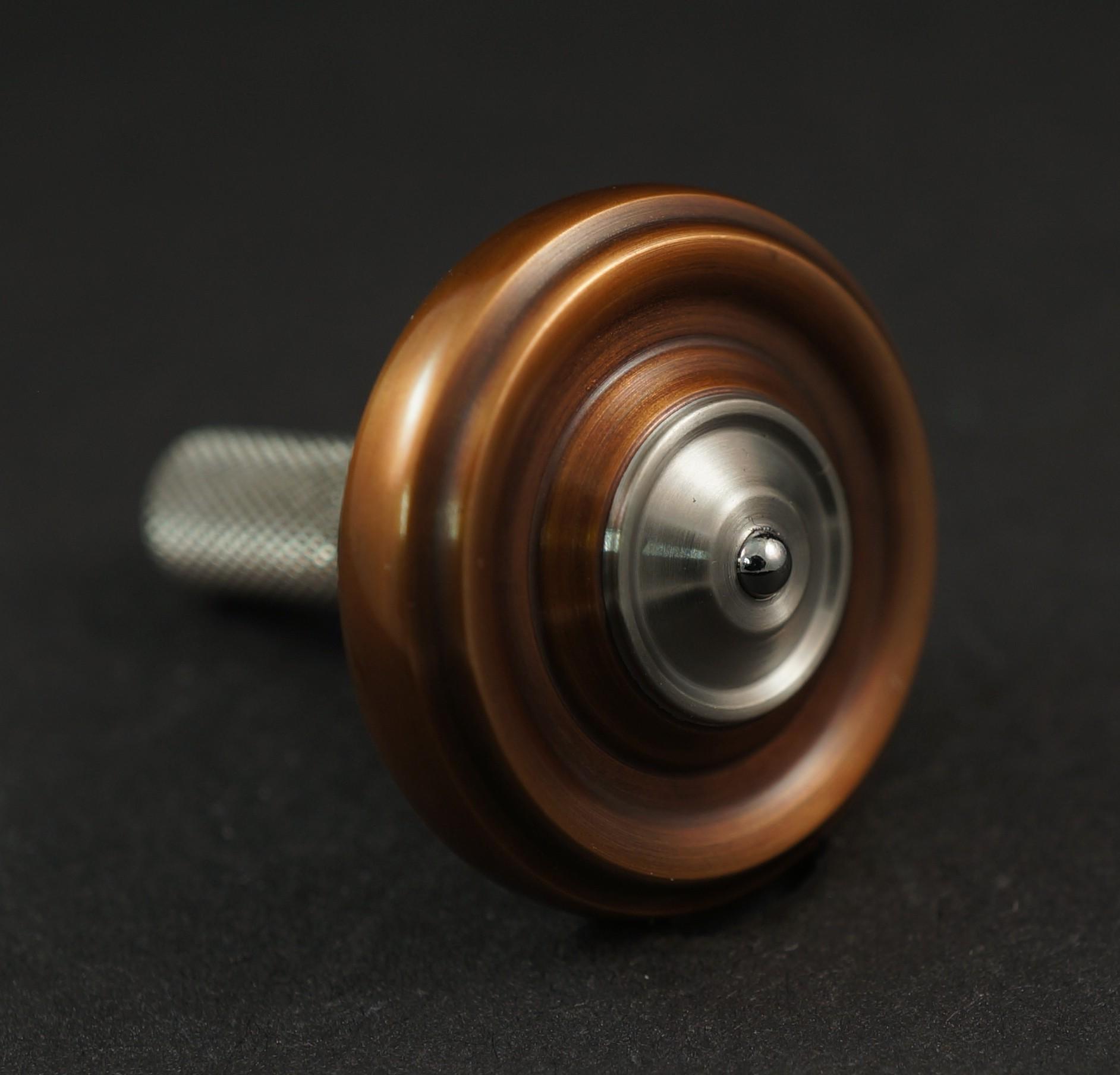 """#1280.99""""Bronze 510 Orange G10, Surfite & Titanium UFO picture 3"""