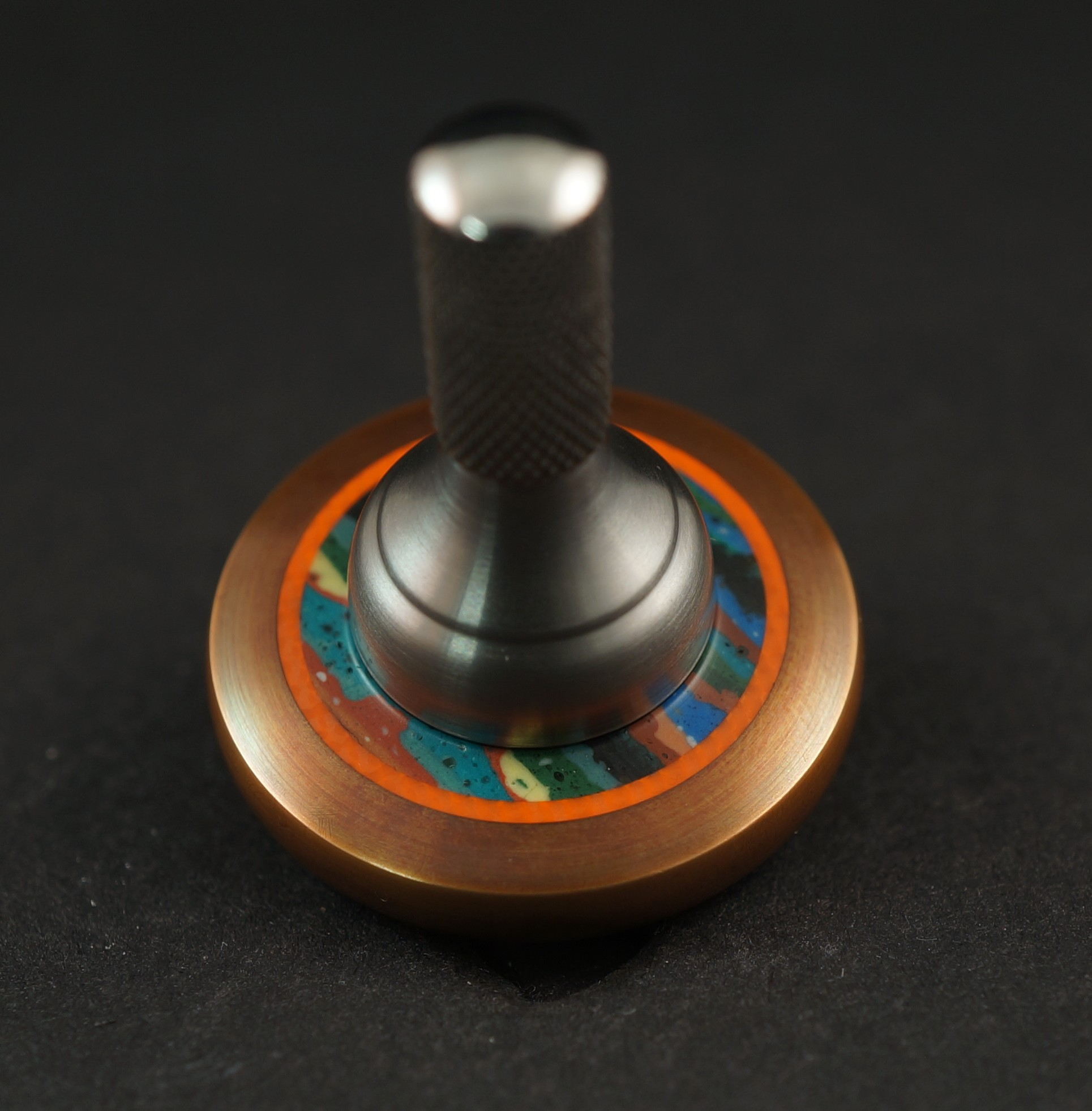 """#1280.99""""Bronze 510 Orange G10, Surfite & Titanium UFO picture 2"""