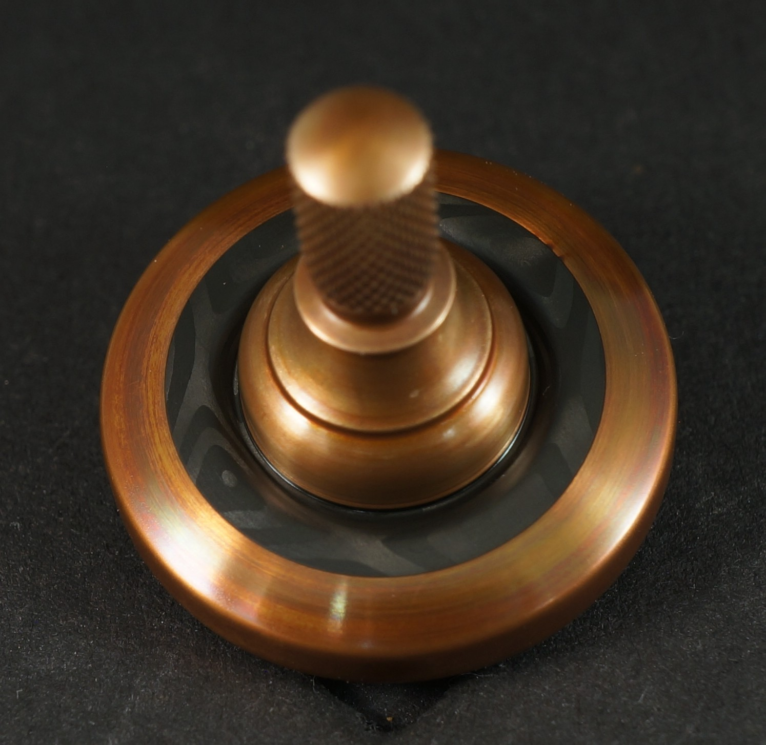 "#937 .99"" Bronze and Carbon Fiber UFO picture 2"