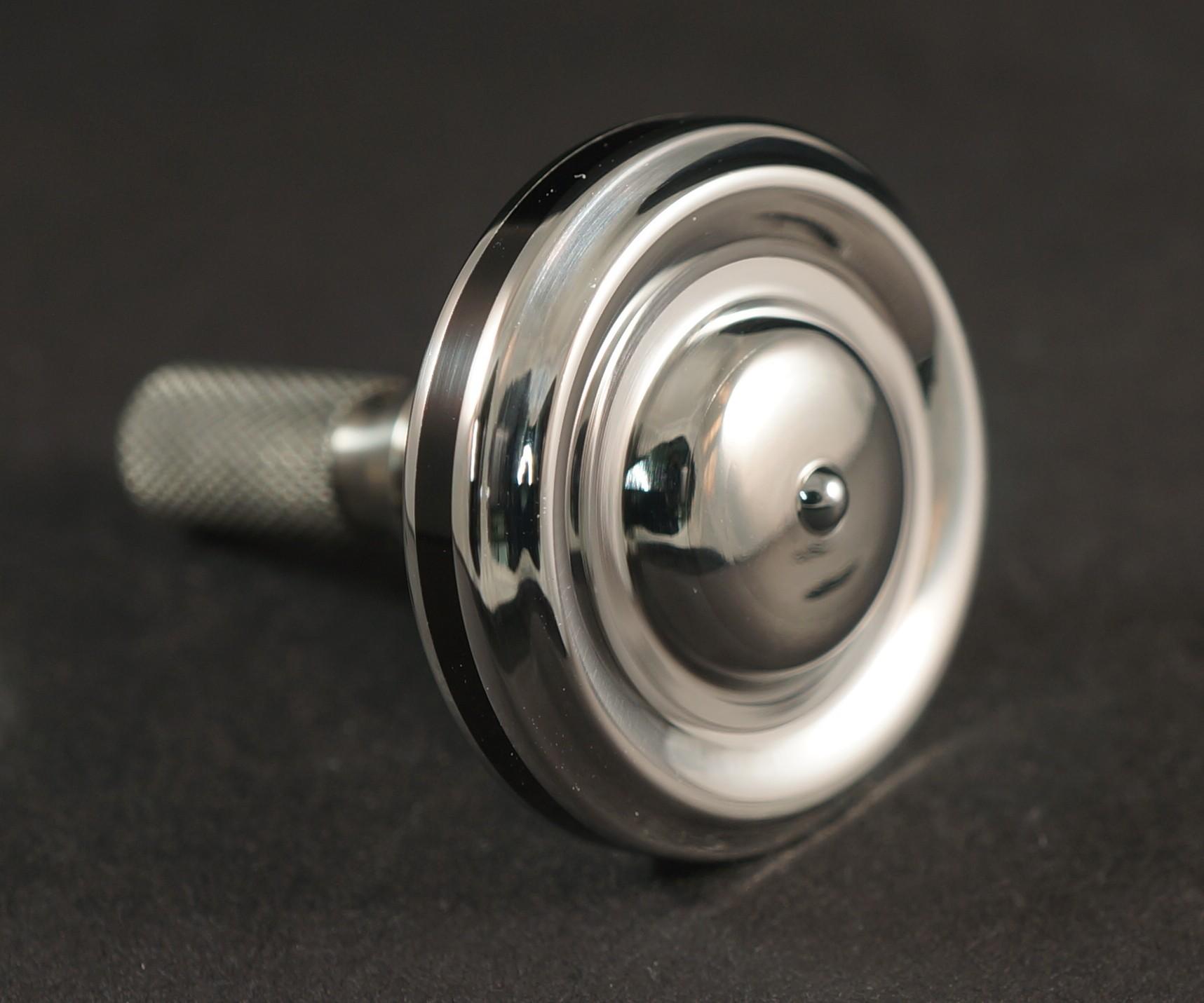 """#1360.99""""440c Steel, Ebonite & Titanium picture 2"""