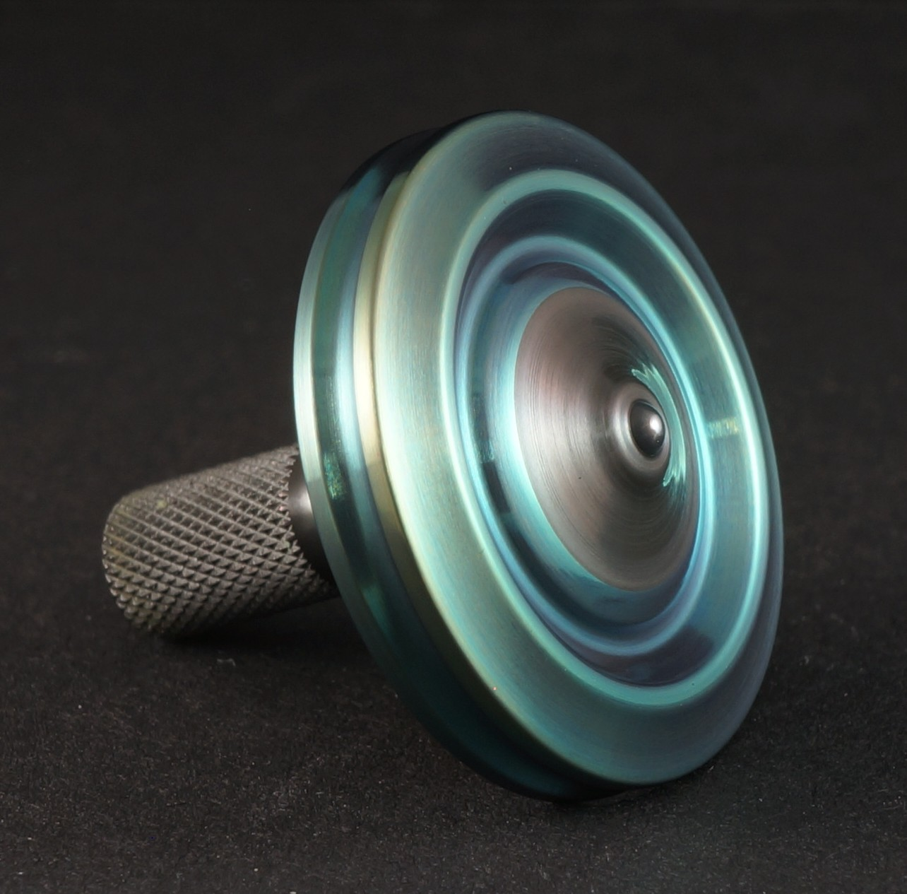 "1.03"" Hafnium, VF 3 alloy mokume and Zirc picture 3"