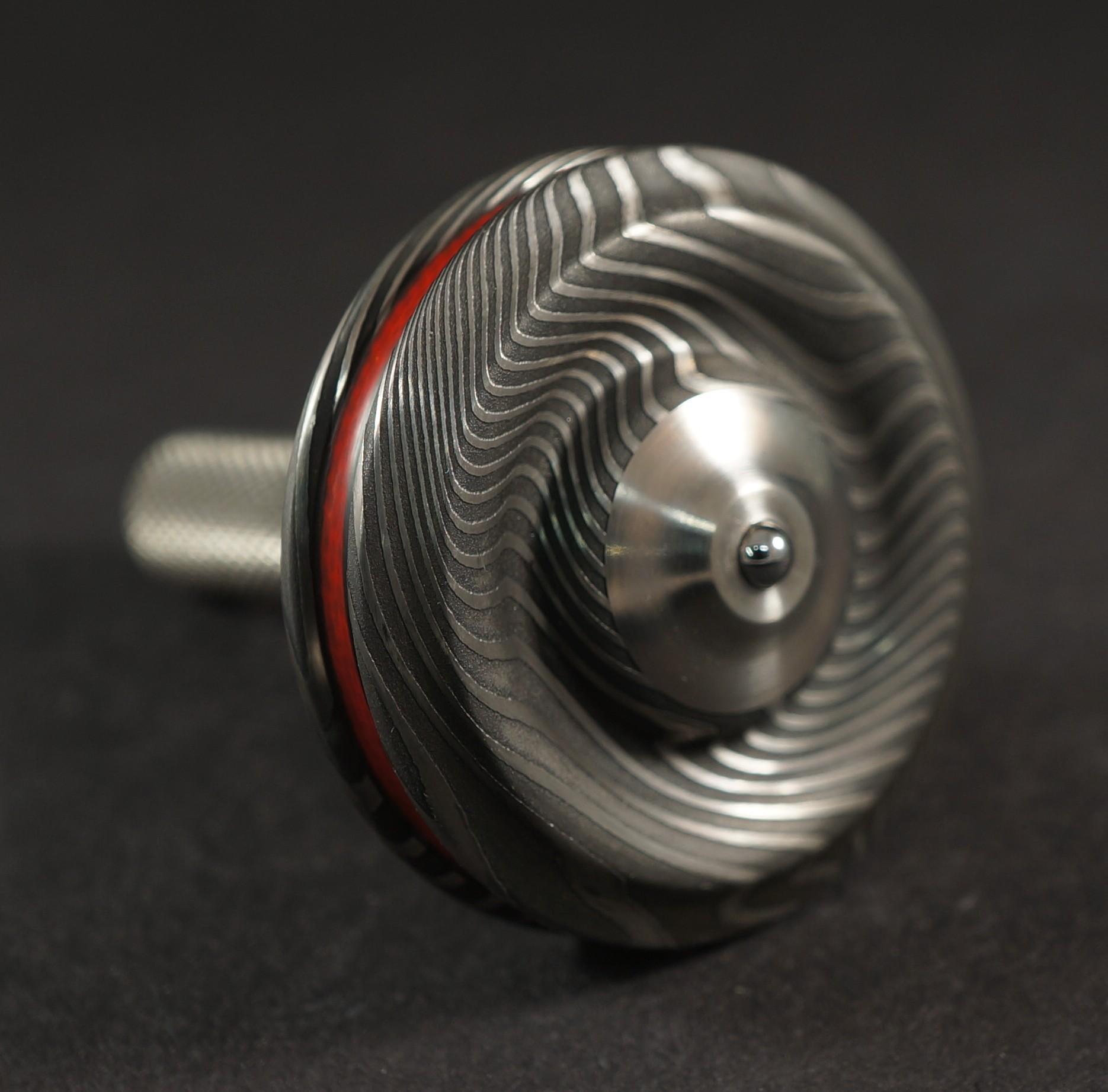 """#11691.09""""Nichols Twist, Carbon Fiber, Red G10 & Titanium picture 4"""